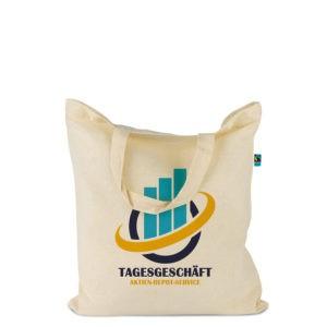 Baumwolltasche mit Fairtrade-Baumwolle