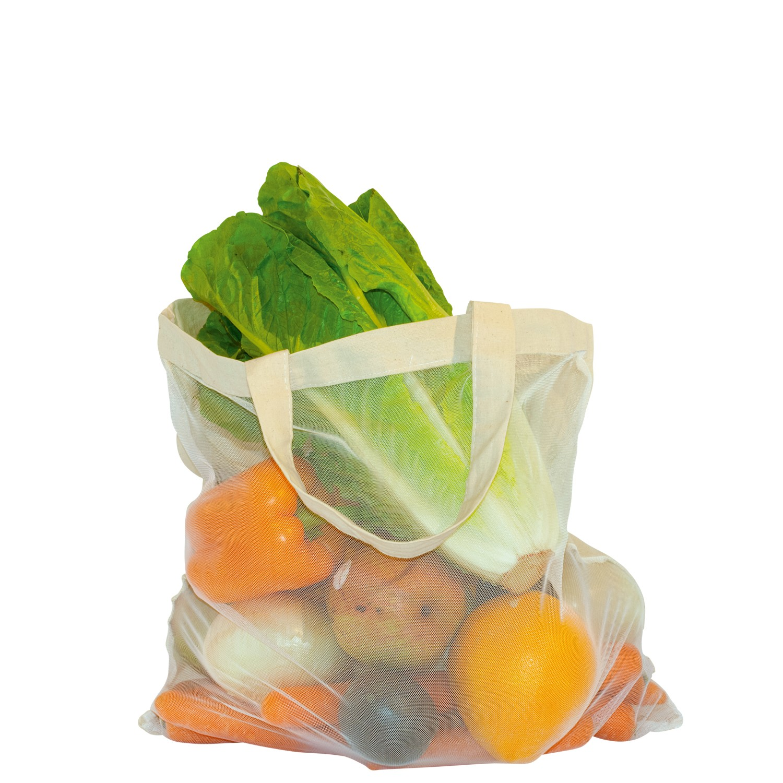 Baumwolle Nylon Veggie Bag
