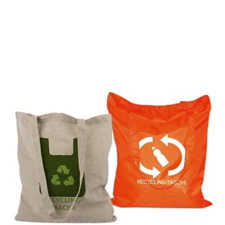 Recycling-Taschen